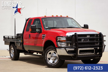 2008 Ford F350SD XLT Flat Bed Diesel 4x4 in Plano