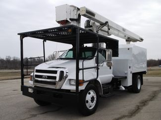 2008 Ford F750 XL SD Chipper Dump with Bucket, 60', Auto ., .