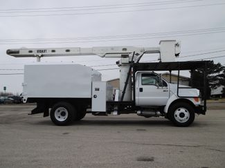 2008 Ford F750 XL SD Chipper Dump with Bucket, 60', Auto ., . 7
