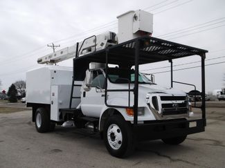 2008 Ford F750 XL SD Chipper Dump with Bucket, 60', Auto ., . 8