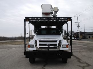 2008 Ford F750 XL SD Chipper Dump with Bucket, 60', Auto ., . 9