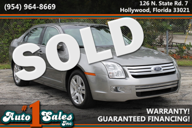 2008 Ford Fusion SEL  CERTIFIED PRE-OWNED 3 YEAR36 000 MILE WARRANTY ROADSIDE ASSITANCE CA