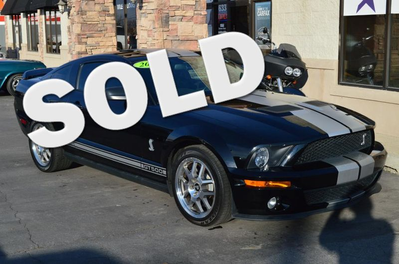 2008 Ford Mustang Shelby GT500   Bountiful, UT   Antion Auto in Bountiful UT