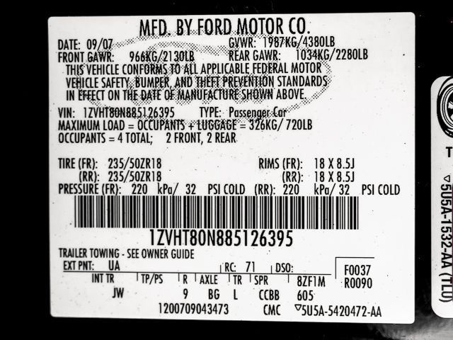 2008 Ford Mustang Premium Burbank, CA 26