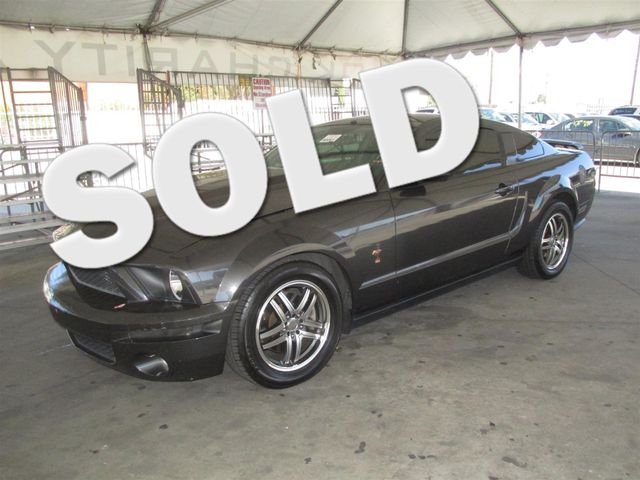 2008 Ford Mustang GT Deluxe Please call or e-mail to check availability All of our vehicles are