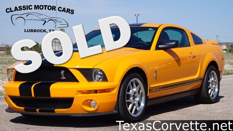 2008 Ford Mustang Shelby GT500 | Lubbock, Texas | Classic Motor Cars