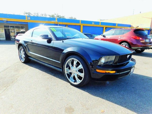 2008 Ford Mustang Deluxe Limited warranty included to assure your worry-free purchase AutoCheck r