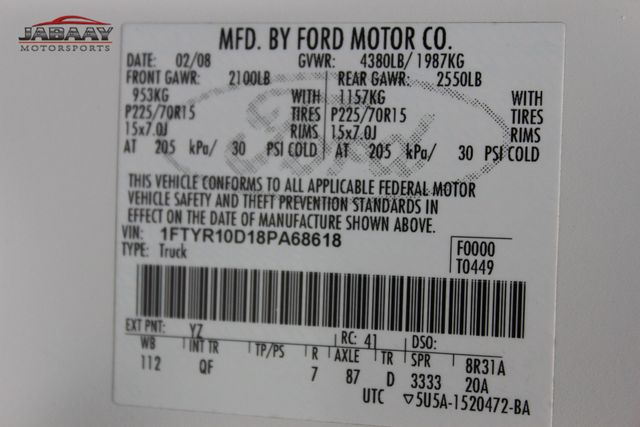 2008 Ford Ranger XL Merrillville, Indiana 40