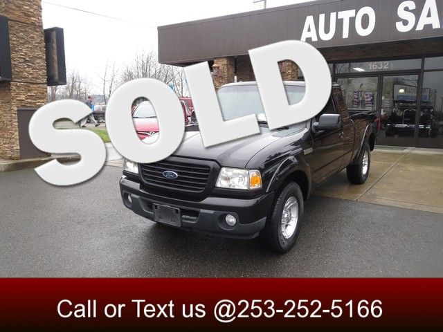 2008 Ford Ranger Sport The CARFAX Buy Back Guarantee that comes with this vehicle means that you c