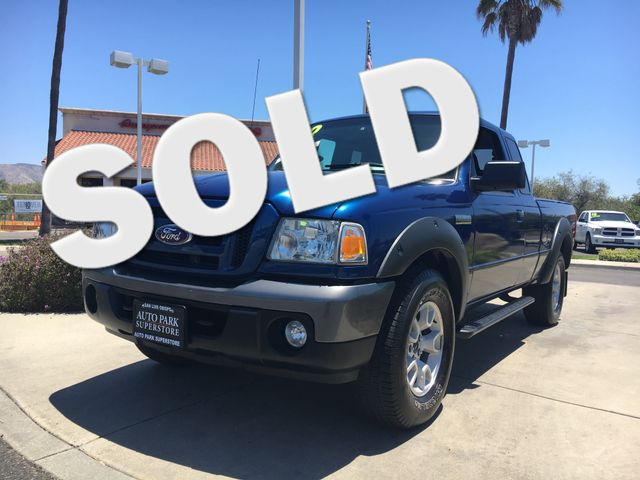 2008 Ford Ranger FX4 Off-Rd Youll enjoy the benefits of good gas mileage and a smooth ride with t