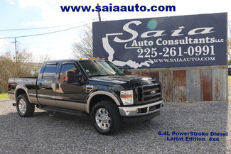 2008 Ford F250 Crew Cab Lariat Diesel 4WD Leveled 35s  20s Serviced Detailed NO FLOOD CLEAN CARFAX | Baton Rouge , Louisiana | Saia Auto Consultants LLC-[ 2 ]