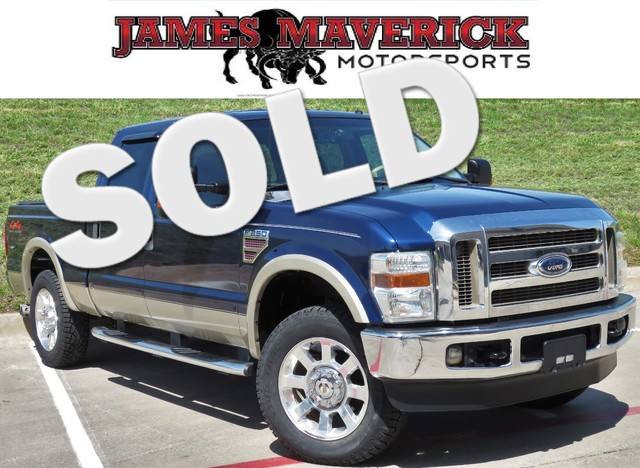 2008 Ford Super Duty F-250 Lariat  VIN 1FTSW21R98EB70324 141k miles  AMFM CD Player Anti-Th