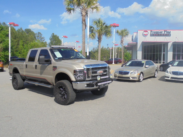 2008 Ford Super Duty F-250 Lariat local trade just arrived VIN 1FTSW21R18EA20109 126k miles