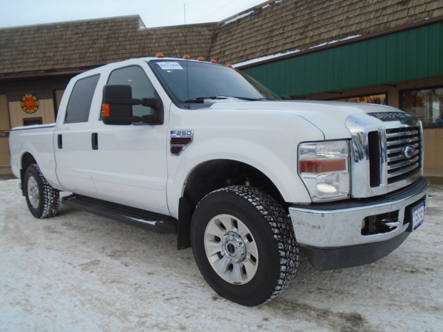2008 ford super duty f 250 srw lariat city nd heiser motors. Black Bedroom Furniture Sets. Home Design Ideas