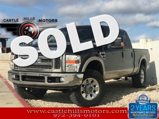 2008 Ford Super Duty F-250 SRW Lariat - Leather, Tow, NAV, & More! | Lewisville, Texas | Castle Hills Motors in Lewisville Texas