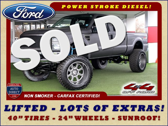 2008 Ford Super Duty F-250 SRW XLT Crew Cab 4x4 OFF ROAD - LIFTED - EXTRA$! Mooresville , NC 0