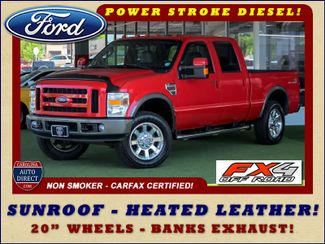 2008 Ford Super Duty F-250 SRW FX4 Crew Cab 4x4 -SUNROOF - HEATED LEATHER! Mooresville , NC