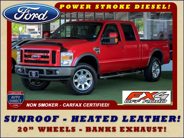 2008 Ford Super Duty F-250 SRW FX4 Crew Cab 4x4 -SUNROOF - HEATED LEATHER! Mooresville , NC 0