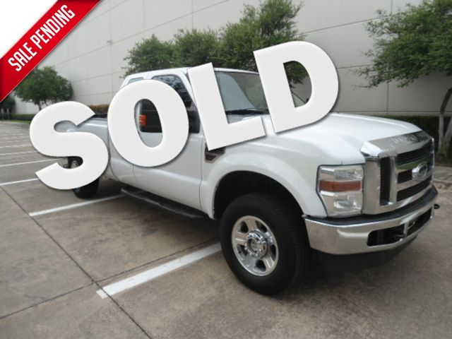 2008 Ford Super Duty F-250 SRW XLT Diesel 4X4 Plano, Texas 0