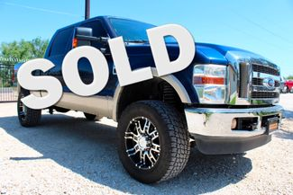 2008 Ford Super Duty F-250 Lariat 4X4 6.4L Powerstroke Diesel Auto LIFTED Sealy, Texas