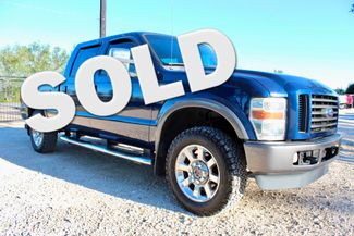 2008 Ford Super Duty F-250 FX4 Crew Cab 4X4 6.4L Powerstroke Diesel Auto Sealy, Texas