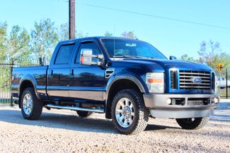 2008 Ford Super Duty F-250 FX4 Crew Cab 4X4 6.4L Powerstroke Diesel Auto Sealy, Texas 1