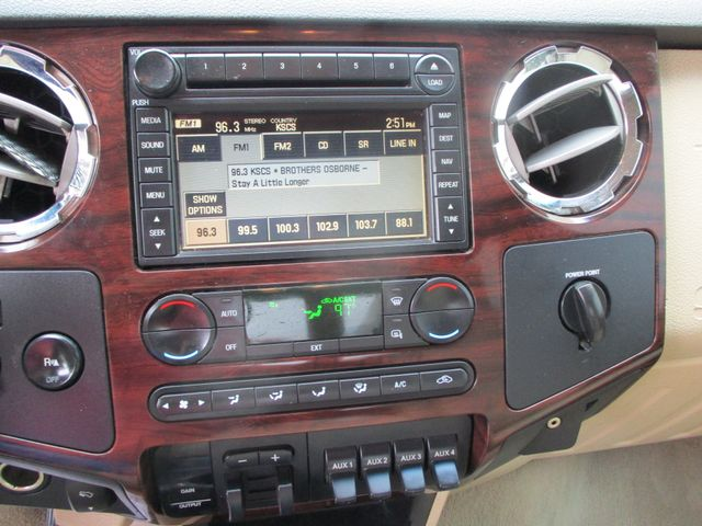 2008 Ford Super Duty F-350 LWB Lariat Diesel 4x4 Plano, Texas 20