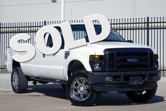 "2008 Ford Super Duty F-350 SRW XL * 1-OWNER * Diesel * 4x4 * 20"" Moto Metals * Plano, Texas"