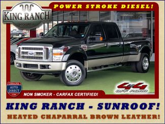 2008 Ford Super Duty F-450 DRW King Ranch Crew Cab 4x4 OFF ROAD - SUNROOF! Mooresville , NC