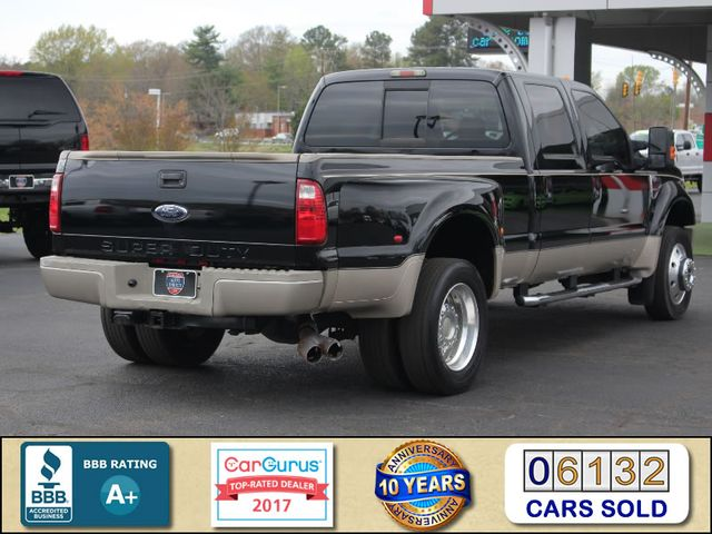 2008 Ford Super Duty F-450 DRW King Ranch Crew Cab 4x4 OFF ROAD - SUNROOF! Mooresville , NC 2
