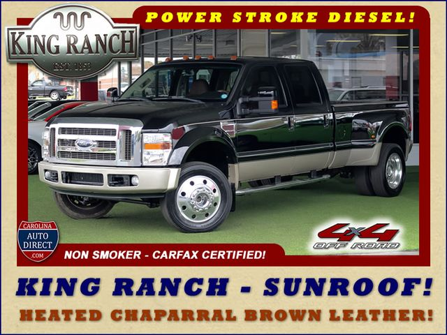 2008 Ford Super Duty F-450 DRW King Ranch Crew Cab 4x4 OFF ROAD - SUNROOF! Mooresville , NC 0