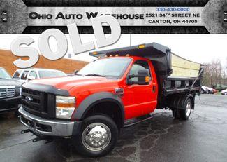 2008 Ford Super Duty F-550 F550 DRW 4x4 Dump Plow PowerStroke Diesel We Finance | Canton, Ohio | Ohio Auto Warehouse LLC in  Ohio