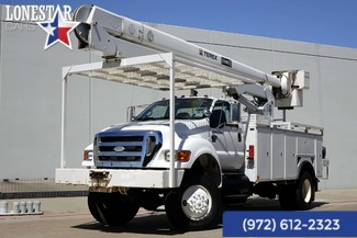 2008 Ford Super Duty F-750  XL 52 Ft Boom 4x4