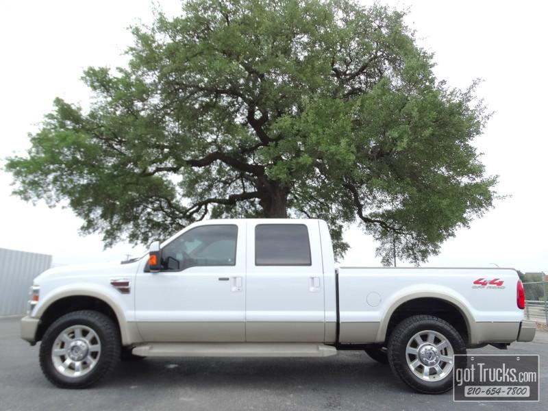 2008 Ford Super Duty F250 Crew Cab King Ranch 6.4L Power Stroke Diesel 4X4 in San Antonio Texas
