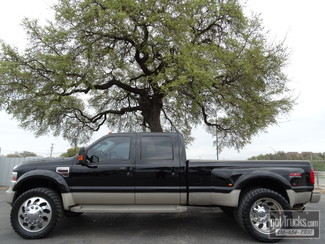 2008 Ford Super Duty F450 DRW Crew Cab King Ranch 6.4L Power Stroke Diesel 4X4 in San Antonio Texas