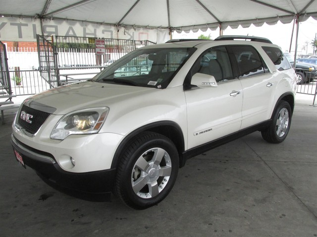 2008 GMC Acadia SLT1 Please call or e-mail to check availability All of our vehicles are availa
