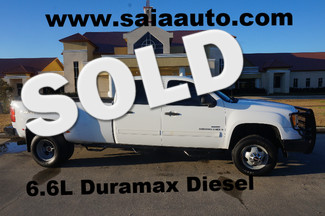 2008 Gmc Sierra 3500 Hd Crew Cab 4wd Diesel Sle Dually Leather Ranch Hand Bumpers