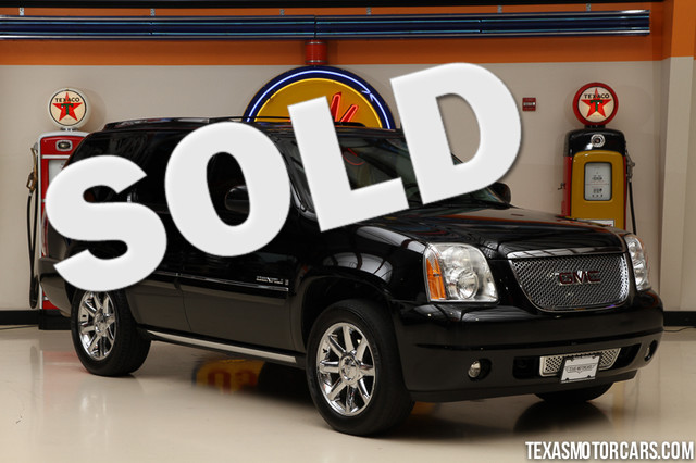 2008 GMC Yukon Denali This 2008 GMC Yukon Denali is in great shape with only 90 835 miles The Yu