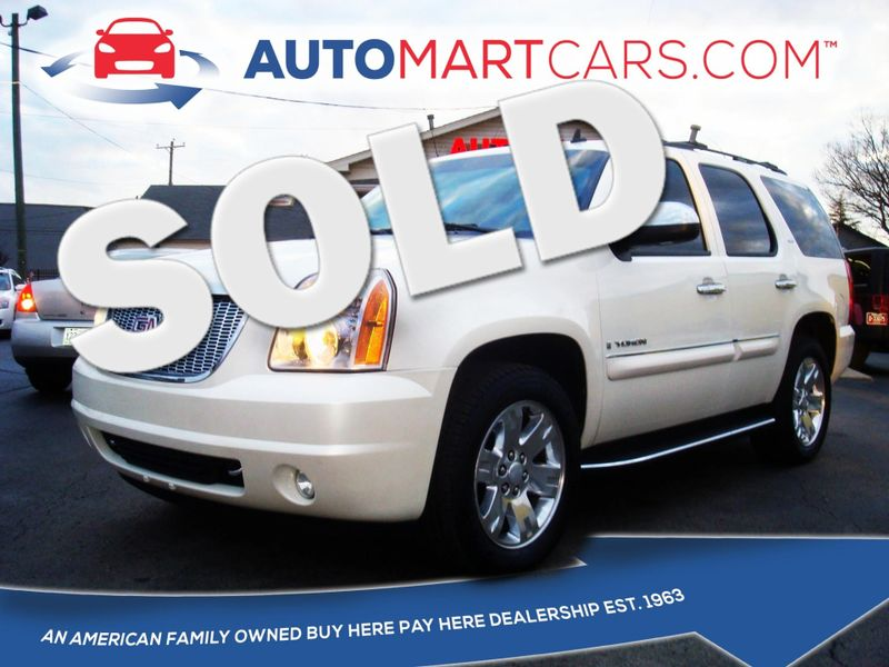 2008 GMC Yukon SLT w/4SB | Nashville, Tennessee | Auto Mart Used Cars Inc. in Nashville Tennessee