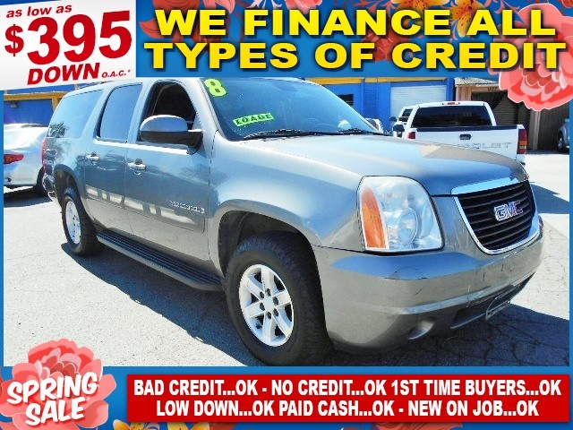 2008 GMC Yukon XL SLE w3SA Limited warranty included to assure your worry-free purchase AutoChec