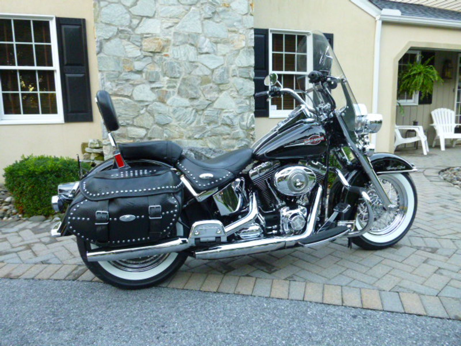 2008 flstc heritage softail classic used harley. Black Bedroom Furniture Sets. Home Design Ideas