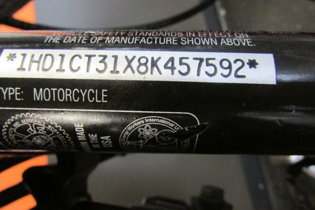 2008 Harley-Davidson Sportster® 1200 Custom Arlington, Texas 20