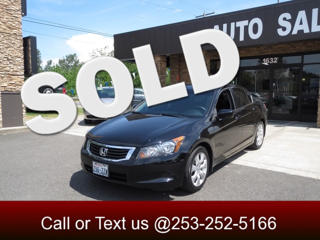 2008 Honda Accord EX-L The CARFAX Buy Back Guarantee that comes with this vehicle means that you c