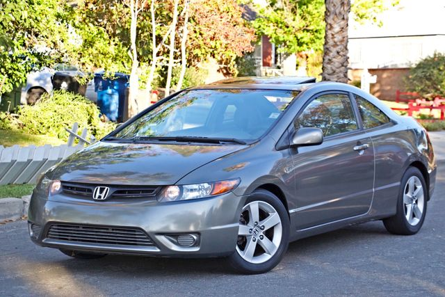 2008 Honda CIVIC EX COUPE SUNROOF AUOMATIC 1-OWNER SERVICE RECORDS Woodland Hills, CA 1