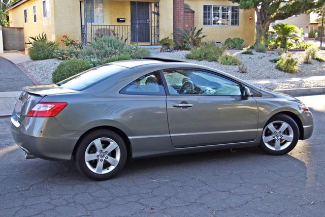 2008 Honda CIVIC EX COUPE SUNROOF AUOMATIC 1-OWNER SERVICE RECORDS Woodland Hills, CA 10