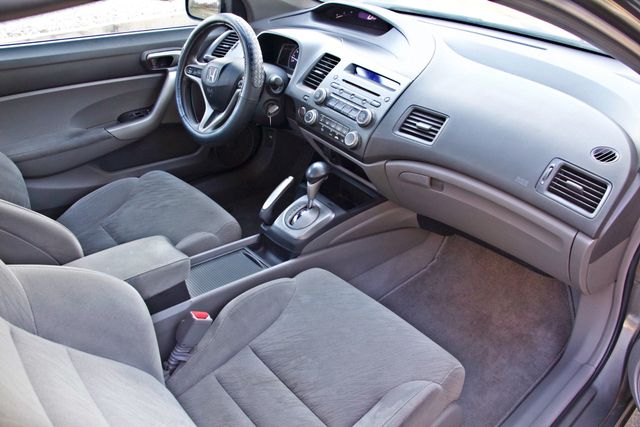 2008 Honda CIVIC EX COUPE SUNROOF AUOMATIC 1-OWNER SERVICE RECORDS Woodland Hills, CA 22