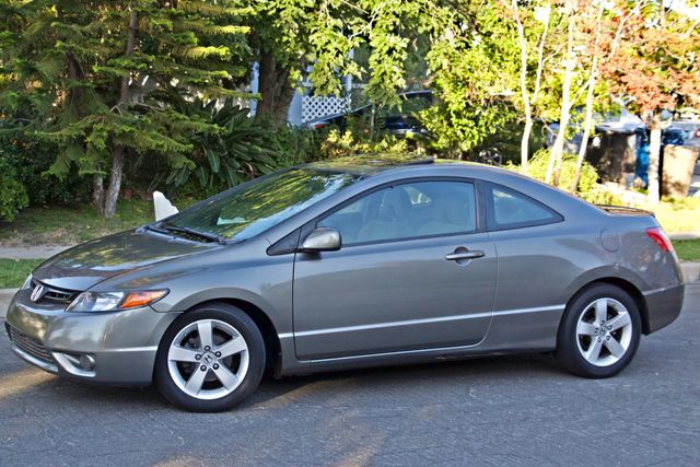 2008 Honda CIVIC EX COUPE SUNROOF AUOMATIC 1-OWNER SERVICE RECORDS Woodland Hills, CA 4