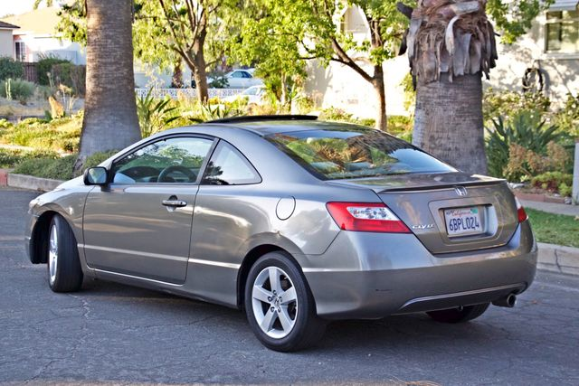 2008 Honda CIVIC EX COUPE SUNROOF AUOMATIC 1-OWNER SERVICE RECORDS Woodland Hills, CA 6