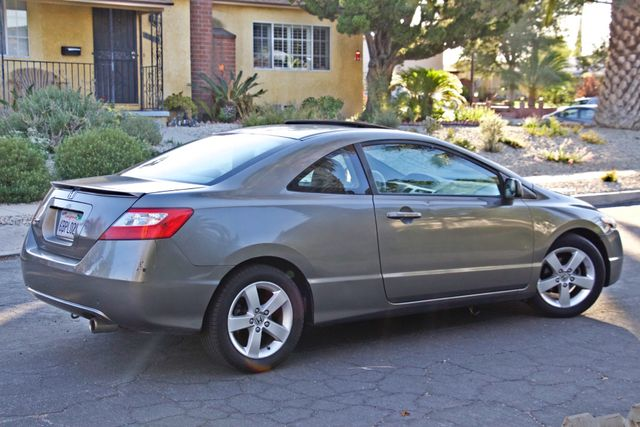 2008 Honda CIVIC EX COUPE SUNROOF AUOMATIC 1-OWNER SERVICE RECORDS Woodland Hills, CA 9
