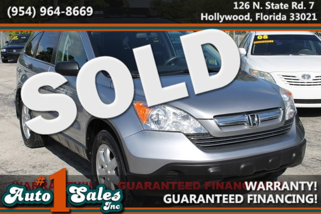 2008 Honda CR-V EX  WARRANTY CARFAX CERTIFIED AUTOCHECK CERTIFIED 1 OWNER TRADES WELCOME